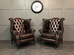 Kensington Wing Chair pair