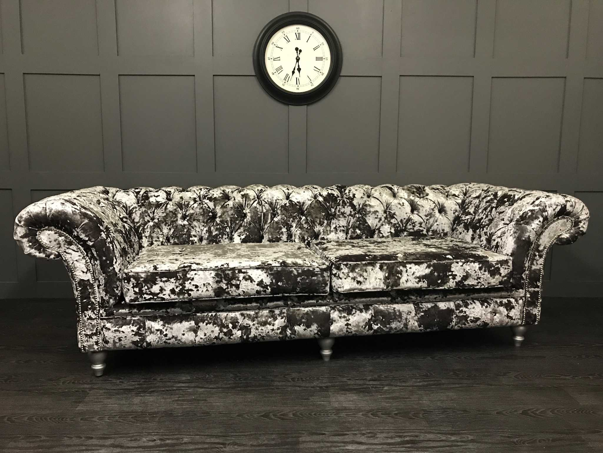 4 Seat London Chesterfield Sofa