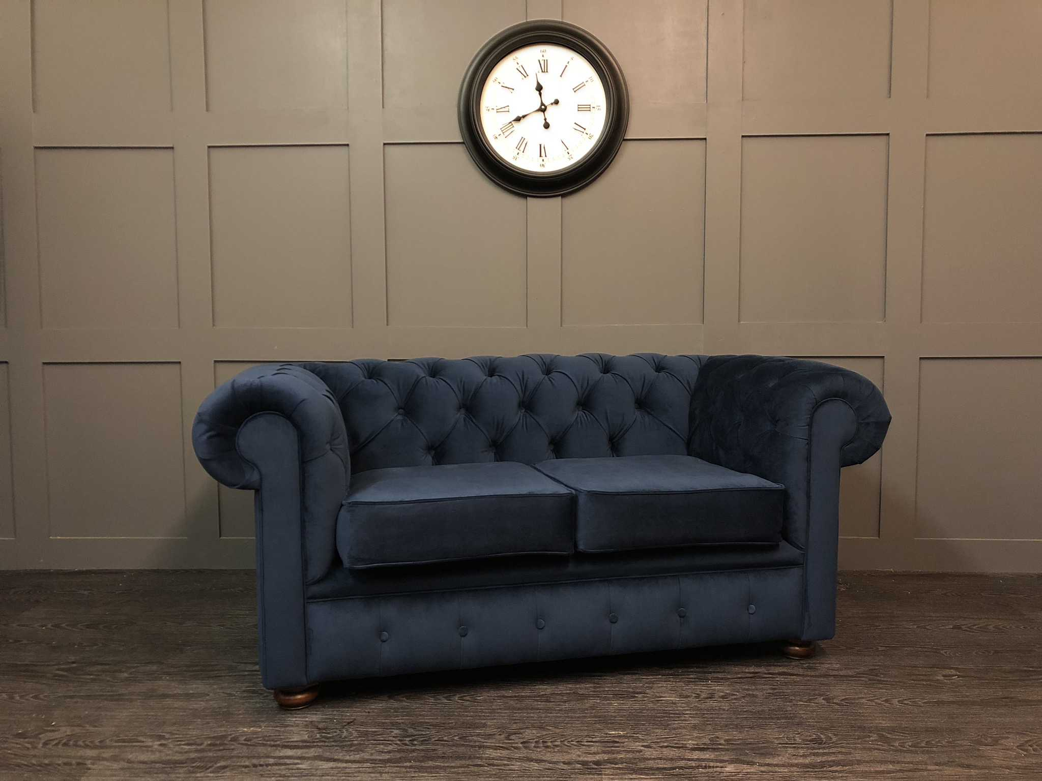 essex chesterfield warwick plush velvet indigo